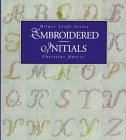 Embroidered Initials, Christine Harris, 1863511776