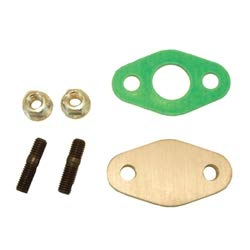 LC Engineering 1045001 - Oxygen Sensor Block Plate Kit - 2-Bolt Style