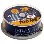 BestMedia CD-R/ 700MB Platinum CD-Rohlinge 80 Minuten 52x speed Spindel (25 Stück)