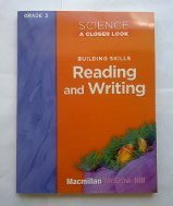 Science a Closer Look Grade 3 Building Skills Reading and Writing
