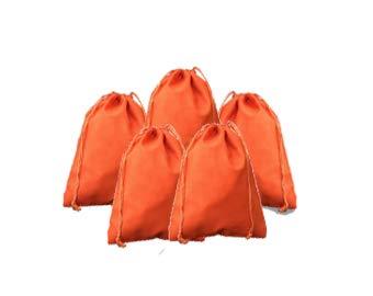 【当店一番人気】 8 8 x 10インチ、オレンジコットンモスリン巾着バッグ、プレミアム品質リサイクル可能ファブリック、から選択数量12、25、50,100、200 オレンジ B07DBC6TTB M オレンジ B07DBC6TTB, 蟹田町:da9d32e9 --- diceanalytics.pk