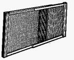Marvin Aws1845 Adjustable Window Screen 18'' X 26 - 45