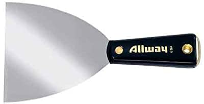 Allway Tools 4-Inch Flexible Hammer End Nylon Handle Tape Knife