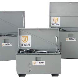 TITAN 100 Gallon Carbon Steel Unit with TD-12V Pump, 20'/4'
