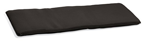 - Oxford Garden 5-Foot Backless Bench Cushion | Made from 100% Sunbrella | Durable and Suitable as Outdoor Cushion | Black