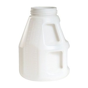 Fluid Storage Container Drum HDPE 10 L Industrial Lubricants