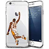 iPhone 6/6s Case, Chrry Cases Ultra Slim [Crystal Clear] [Basketball Player] Soft TPU Case Cover for Apple iPhone 6/6s (4.7) - Mamba