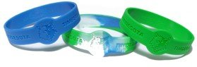 fan products of Caseys Minnesota Timberwolves 3 Pack of Wristbands