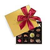 Godiva Chocolatier 19 Piece Holiday Gold Ballotin Gift Box, Assorted Gourmet Chocolates