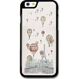 609 Tower - Cool Vintage Hot Air Balloons Over Paris Eiffel Tower Design case for iPhone 6 6S