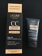 Aldi lacura CC Corrección de Color Crema SPF 15 con protección ...