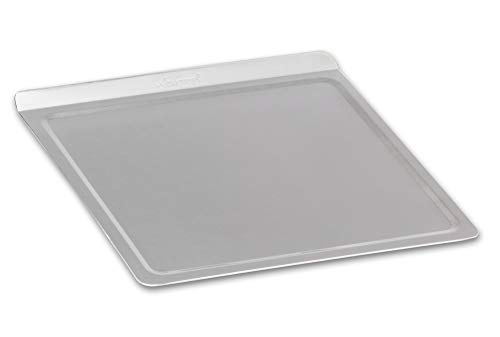 360 Stainless Steel Cookie Sheet, Handcrafted in the USA, 5 Ply, Surgical Grade Stainless Steel Bakeware, Dishwasher Safe, Baking Sheet, Roasting Pan, Pizza Pan (Medium 12 Inch x 12 Inch)
