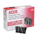 ACC72100 - Acco Large Binder Clips