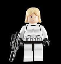 [Luke Skywalker (Stormtrooper Outfit) - Lego Star Wars Minifigure by LEGO] (Stormtroopers Outfit)