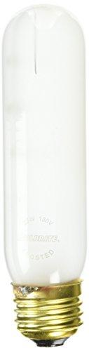 Bulbrite 25T10F/HO 25-Watt Incandescent T10 Tubular High Output Light, Frost
