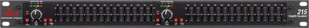 dbx 215 Dual 15 Band Graphic Equalizer