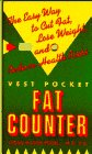 The Vest Pocket Fat Counter, Susan Kagen Podell, 0385422946