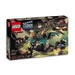 with LEGO Jurassic World design