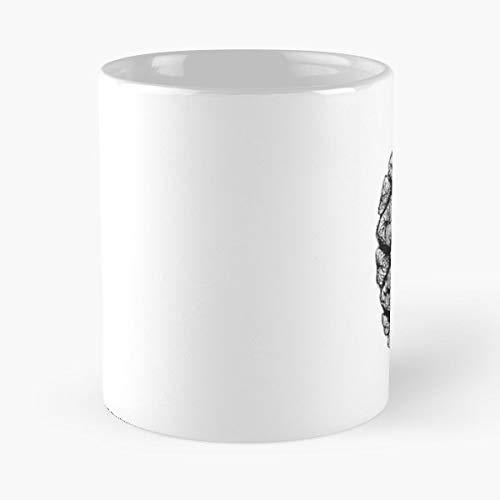Giantsequoiacone Giantsequoia Cone Pinecone Coffee Mugs Unique Ceramic Novelty Cup