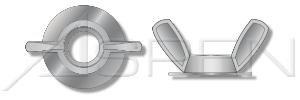 (1000 pcs) 1/4''-20, OD=3/4'', Wing Spread=1'' (Hurricane) Wing Nuts, Washer Based, Zinc Die Cast, Zamac #3 Zinc Alloy, Ships FREE in USA by Aspen Fasteners