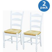 Target Marketing Systems Set of 2 Ladder Back Chairs with...