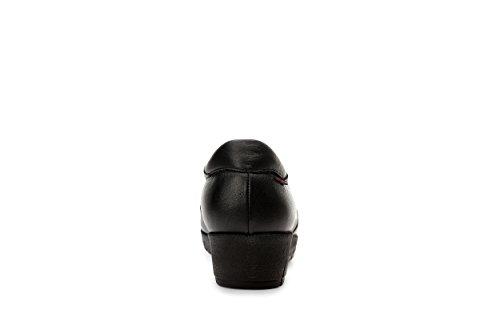 E Oneflex Scarpe Nero Antibatterico Pelle Da In Fabbricato Donna Fodera Comode Morbida Mirelle Antiscivolo nRRZxP