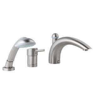 Grohe 34 272 EN0 Concetto Roman Tub Filler with Personal Hand Shower, Infinity Brushed Nickel Finish