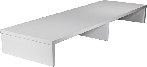 OFC Express TV Stand 42 x 14 x 5.25, Satin White (Widescreen Tv Console)