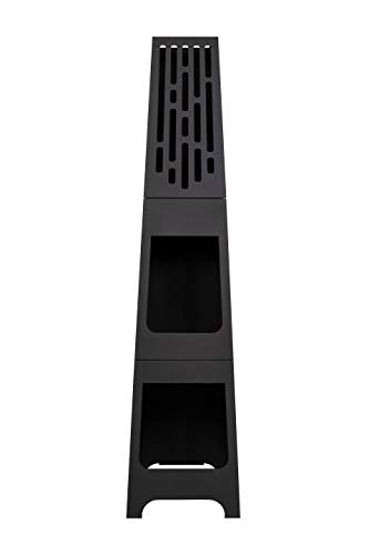 Oxford Barbecues Contemporary Steel Holton Chiminea Patio Heater
