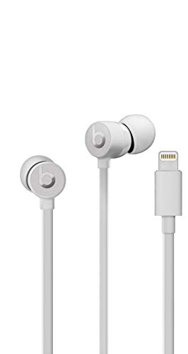 Urbeats3 Wired Earphones With Lightning Connector - Tangle Free Cable, Magnetic Earbuds, Built In Mic And Controls - Satin Silver