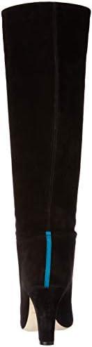 SJP by Sarah Jessica Parker Women's Rayna Almond Toe Knee High Boot, Black Suede, 36.5 B EU (6 US) rvJ1tfSx
