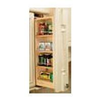 Rev-A-Shelf 3'' Wall Filler Pullout (39'' H), Natural by Rev-A-Shelf