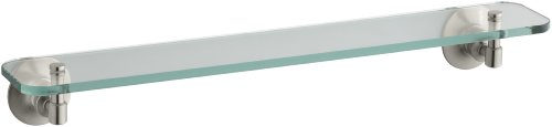 Kohler K-11062-BN Archer Glass Shelf, Vibrant Brushed Nickel by Kohler