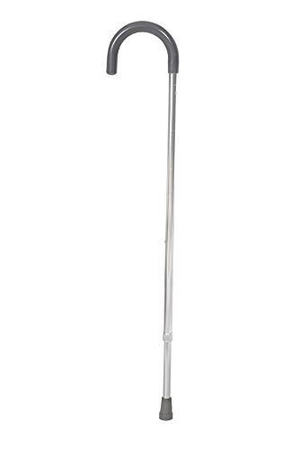 Essential Medical Supply Aluminum Adjustable Cane with Vinyl Handle