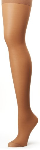 Hanes Silk Reflections Women's Alive Full Support Control Top Pantyhose, Barely There, (True Support Pantyhose)
