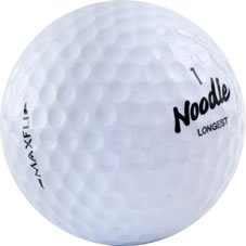 60 Mint Maxfli Noodle Used Golf Balls