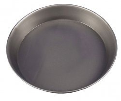Samuel Groves 1817 Black Iron 1'' Deep Pizza Pan. 7'' Dia 180mm Made in England by Samuel Groves