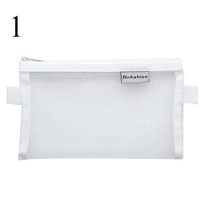 6810679d3a6e9d Amazon.com : Pencil Case, Pencil Bag Transparent Mesh School Pencil ...