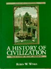 A History of Civilization: Prehistory to the Present (Combined) (9th Edition)
