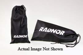 Radnor Black Nylon Eyewear Pouch with Drawstring Closure - 12/Bag (4 Bags)