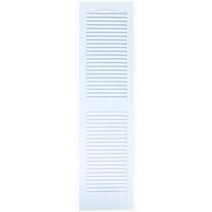 Builders Edge, Inc. 020140055001 Open Louver Vinyl Shutters