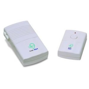 New Sonic Bomb Wireless Doorbell Signaler Includes Transmitter Andreceiver Built-In Lamp Outlet