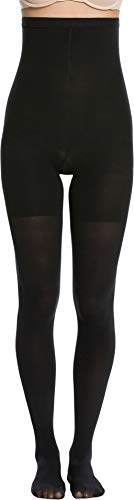 - Spanx Women's High-Waisted tight-end tights Very Black A