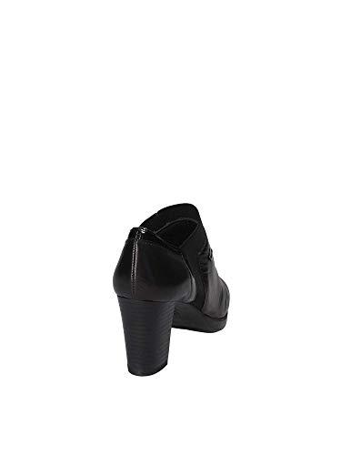 Sandalo Nero Donna 38153 Valleverde Xzxwrqr Tacco zqGMpUSV