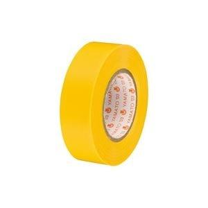 生活日用品 (業務用300セット) ビニールテープ/粘着テープ 【19mm×10m/黄】 NO200-19 B074MLN94H