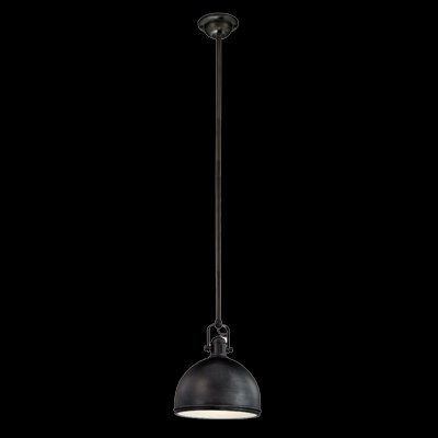 Domed Metal Pendant Light Shade