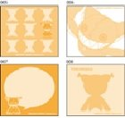 Tags of a mascot character TK002_B TALES OF THE ABYSS TOA Tokunaga B series post it