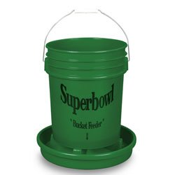 (Nasco Superbowl Poultry Feeder Bucket with Base - C20070N)