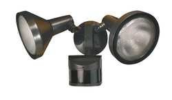 LumaPro 2LBN5 Motion Light, 240Deg.Viewing Angle, Bronze