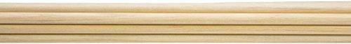 Rose City Archery Port Orford Cedar Bare Wood Premium Arrow Shafts for 30-35-Pound Spine (12-Pack), 5/16-Inch Diameter/32-Inch Length